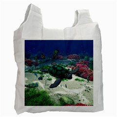 Sea Turtle Recycle Bag (one Side)