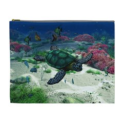 Sea Turtle Cosmetic Bag (xl)