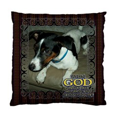 Inspirational Pillow By Joy Johns   Standard Cushion Case (two Sides)   7fsxn663hbkk   Www Artscow Com Front
