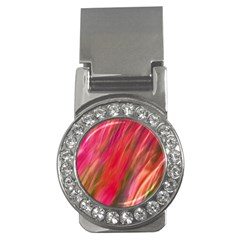 Colorful Pattern Money Clip (cz) by designsbyvee