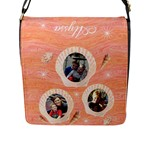 Shells Messenger Bag - Flap Closure Messenger Bag (L)