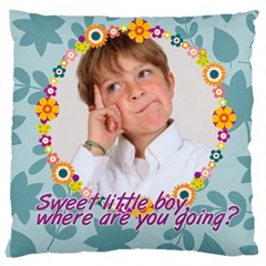Kids By May   Large Cushion Case (two Sides)   Uygraz68bj9q   Www Artscow Com Front