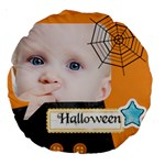 halloween - Large 18  Premium Round Cushion