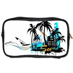 Surf Travel Toiletry Bag (two Sides) by EnjoymentArt