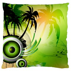 Speaker Large Cushion Case (two Sides) by EnjoymentArt
