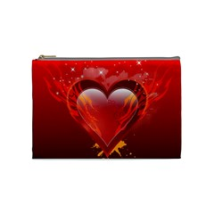 Heart Cosmetic Bag (medium)