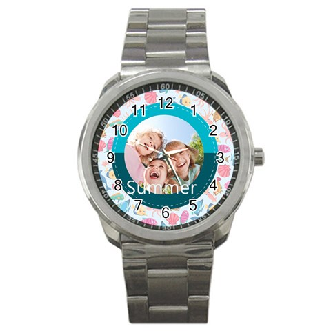 Summer By Summer Time    Sport Metal Watch   Zcw39pw72ld4   Www Artscow Com Front