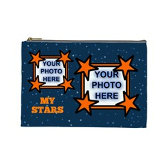 My Stars Large Cosmetic Bag By Joy Johns   Cosmetic Bag (large)   556dl672vkd1   Www Artscow Com Front