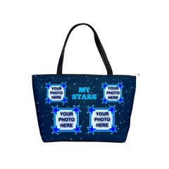 My Stars Shoulder Handbag By Joy Johns   Classic Shoulder Handbag   I335ey7w579u   Www Artscow Com Front
