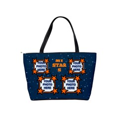 My Stars Shoulder Handbag By Joy Johns   Classic Shoulder Handbag   I335ey7w579u   Www Artscow Com Back