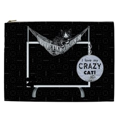 Love Cats Xxl Cosmetic Bag By Lil    Cosmetic Bag (xxl)   Zo0ve19b87xz   Www Artscow Com Front