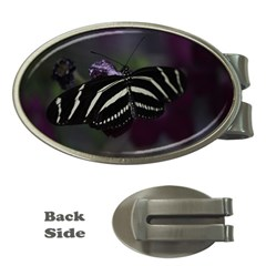 Butterfly 059 001 Money Clip (oval) by pictureperfectphotography