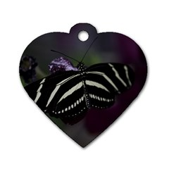Butterfly 059 001 Dog Tag Heart (one Sided)  by pictureperfectphotography
