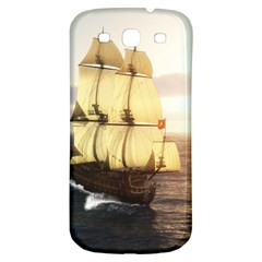 French Warship Samsung Galaxy S3 S Iii Classic Hardshell Back Case by gatterwe