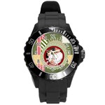 family - Round Plastic Sport Watch (L)