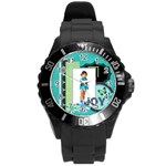 joy - Round Plastic Sport Watch (L)