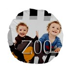 zoo - Standard 15  Premium Round Cushion