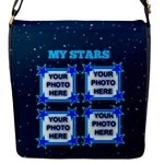 My Stars small messenger bag - Flap Closure Messenger Bag (S)
