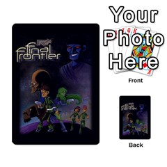 Final Frontier Gimmicks By Casque Noir   Multi Purpose Cards (rectangle)   G4nnw379ziza   Www Artscow Com Back 30