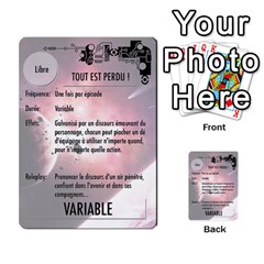 Final Frontier Gimmicks By Casque Noir   Multi Purpose Cards (rectangle)   G4nnw379ziza   Www Artscow Com Front 45
