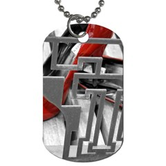 Tt Red Heels Dog Tag (two Sided)  by dray6389