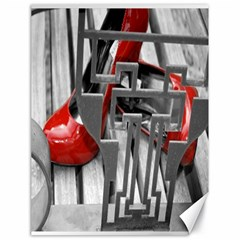 Tt Red Heels Canvas 18  X 24  (unframed)