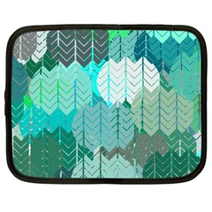 Chevrons Netbook Case (large) by FashionFling