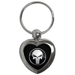 The Punisher Wallpaper  Key Chain (heart)