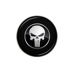 The Punisher Wallpaper  Golf Ball Marker 4 Pack (for Hat Clip) by sterlinginme