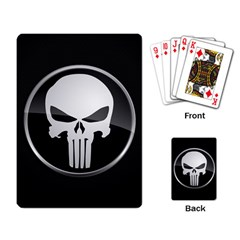 The Punisher Wallpaper  Playing Cards Single Design by sterlinginme