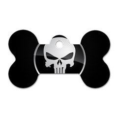 The Punisher Wallpaper  Dog Tag Bone (two Sided)