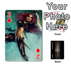 Lol Front/back Cards By Max Curtis   Playing Cards 54 Designs   Agvs7ad58sca   Www Artscow Com Front - Diamond2