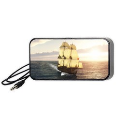 French Warship Portable Speaker (Black) by gatterwe