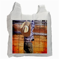 Little Cowboy Recycle Bag (one Side) by dray6389
