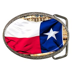 Texas Belt Buckle (oval) by dray6389