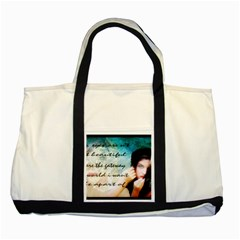 My Eye Only Two Toned Tote Bag by dray6389