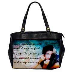 My Eye Only Oversize Office Handbag (one Side) by dray6389