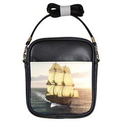 French Warship Girl s Sling Bag by gatterwe