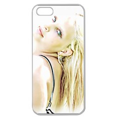 Rissa Apple Seamless Iphone 5 Case (clear) by dray6389