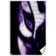 Purple M Canvas 12  X 18  (unframed) by dray6389