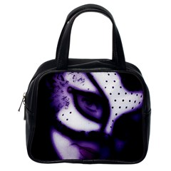 Purple M Classic Handbag (one Side) by dray6389
