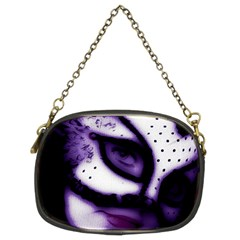 Purple M Chain Purse (two Side) by dray6389