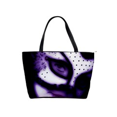 Purple M Large Shoulder Bag by dray6389