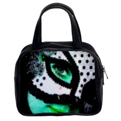 Masked Classic Handbag (two Sides) by dray6389