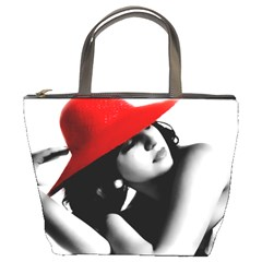 Red Hat Bucket Bag