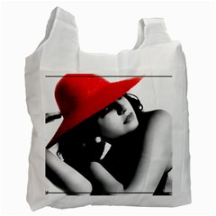 Red Hat Recycle Bag (one Side) by dray6389