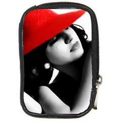 Red Hat Compact Camera Leather Case