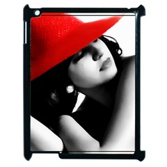 RED HAT Apple iPad 2 Case (Black) by dray6389