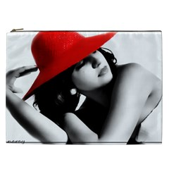 RED HAT Cosmetic Bag (XXL) by dray6389