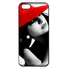 Red Hat Apple Iphone 5 Seamless Case (black) by dray6389
